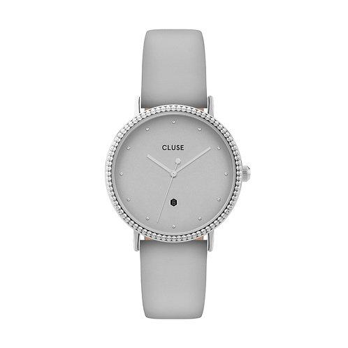 CLUSE Le Couronnement Silver / Soft Grey Watch