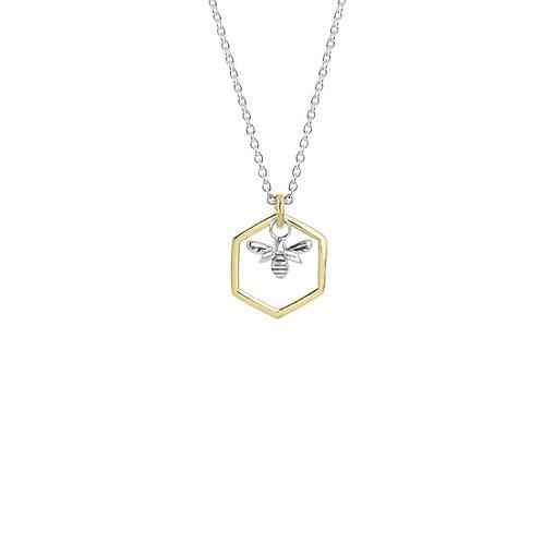 3N40017 Honey Bee Necklace