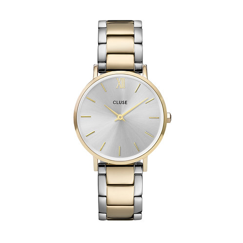 CLUSE Minuit Gold Silver/Gold Two Tone Link