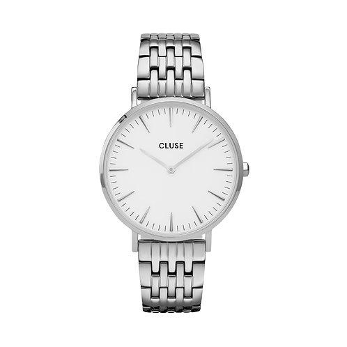 CLUSE La Boheme Silver White/Silver Link