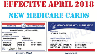 New Medicare cards should have been received by now...