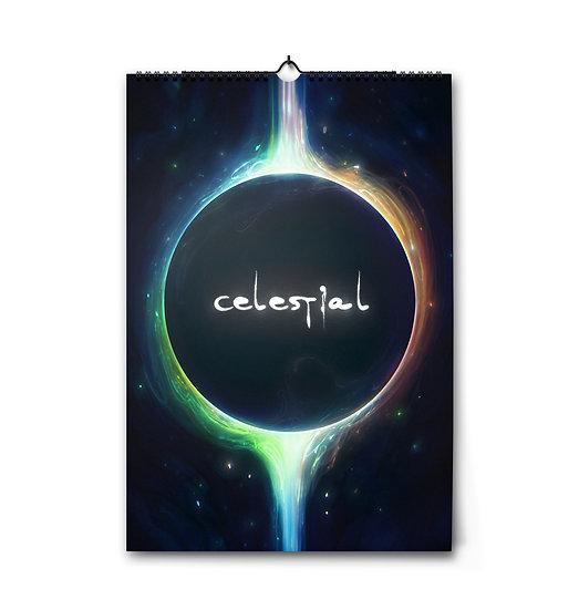 """Календарь от Exellero на 2021 г """"Celestial"""""""