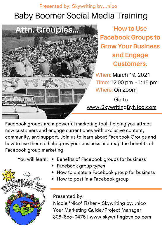 How to use fb groups to grow your busine