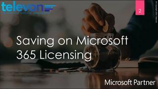 Webinar: Microsoft 365 Reducing Cost & Saving Time