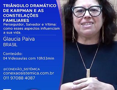 GLAUCIA PAIVA - TRIÂNGULO DRAMATICO DE K