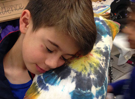 Tie-Dyed Pillows