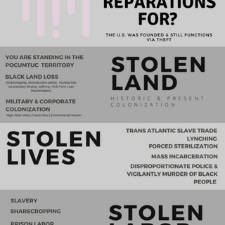 Reparations Info Poster