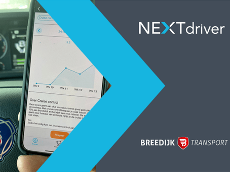 Breedijk Transport start met NEXTdriver