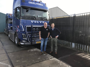 Gebr. Geelhoed Transport start met NEXTdriver