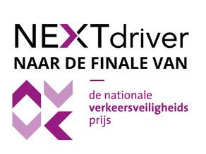 NEXTdriver finalist van nationale verkeersveiligheidsprijs
