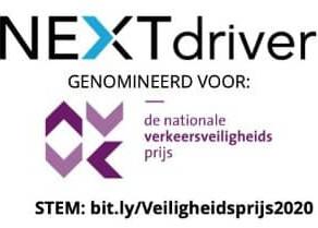 NEXTdriver genomineerd voor Nationale Verkeersveiligheidsprijs