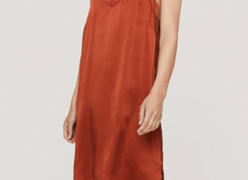CAMELIA LONG RUST - sottoveste