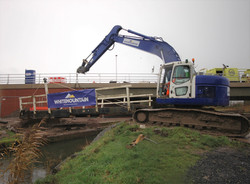Crossways bridge removal cropped picture