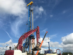 Drilling Colley lane