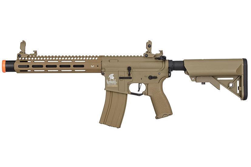 "Lancer Tactical LT-32TA10-G2-E M4 SPC Hybrid 10"" ETU AEG Rifle (Tan)"