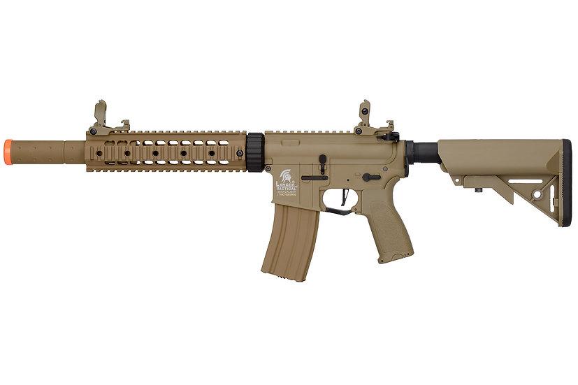 Lancer Tactical LT-15CT-G2-E Nylon Polymer Hybrid M4 Gen2 SD AEG (Tan)
