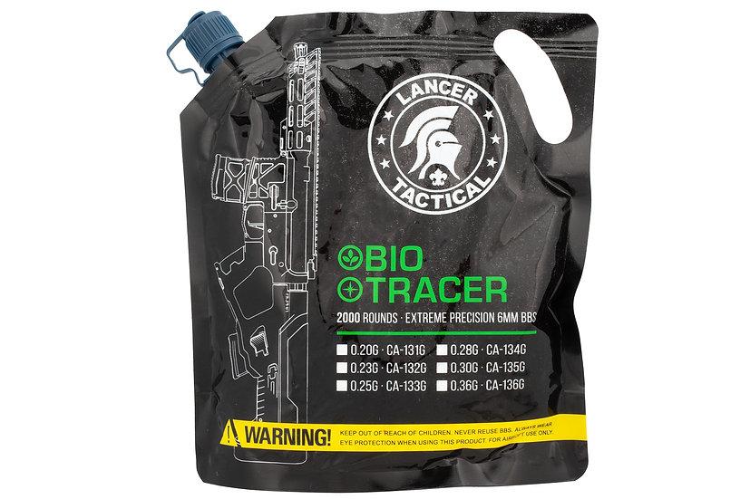 Lancer Tactical 2000 Round 0.25g Seamless Bio Tracer Airsoft BBs