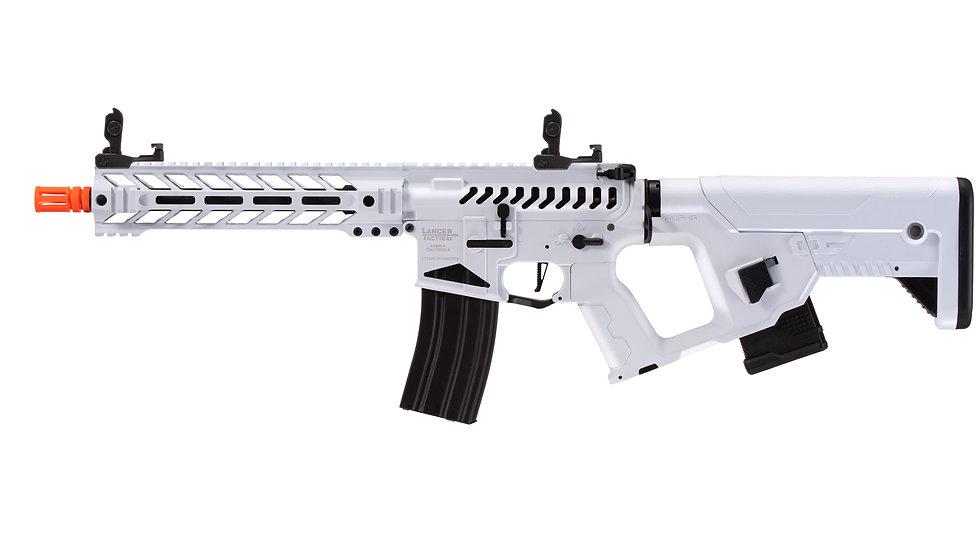 "Lancer Tactical Enforcer Battle Hawk 10"" Skeleton AEG w/ Alpha Stock (White)"