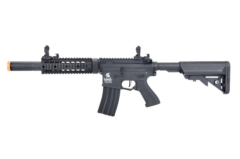 "Lancer Tactical LT-15 Hybrid Gen 2 M4 SD 7"" Airsoft AEG [HIGH FPS] (BLACK)"