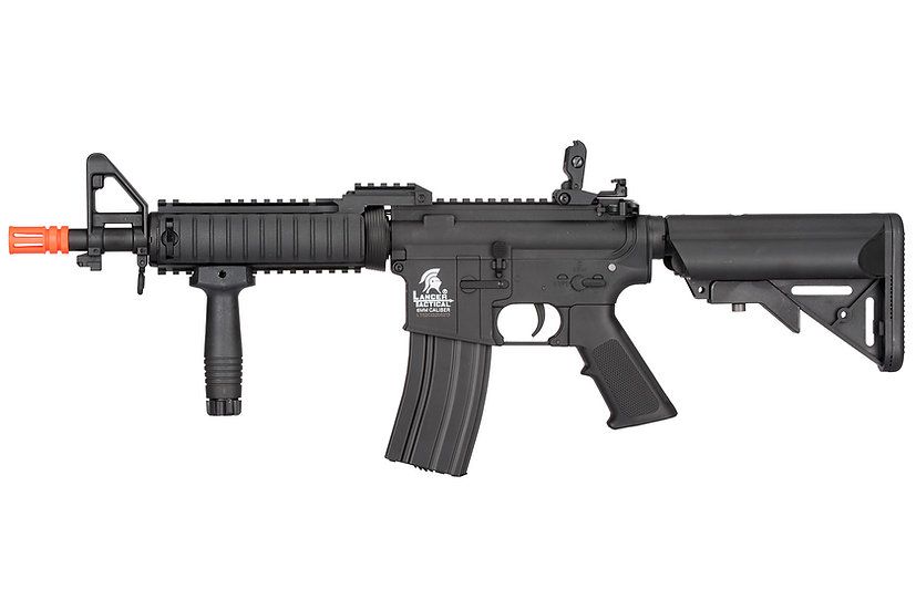 Lancer Tactical MK18 Nylon Polymer Mod 0 AEG (Color: Black)