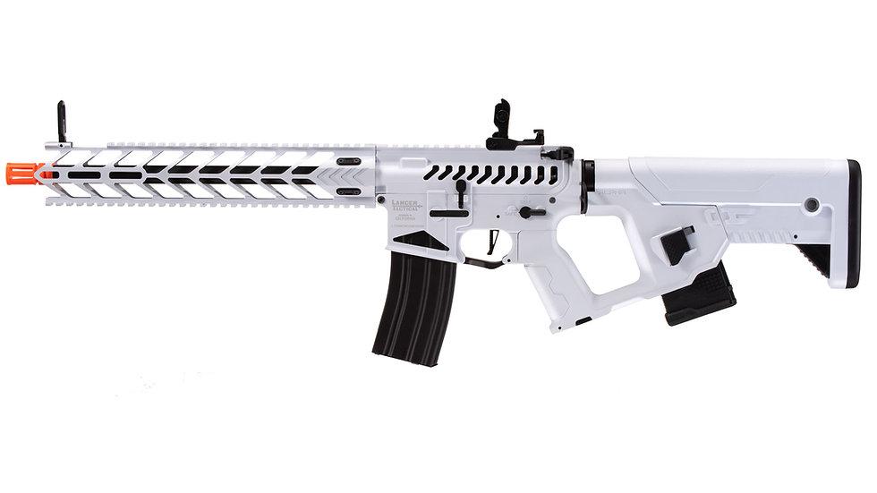 Lancer Tactical Enforcer Night Wing Skeleton AEG w/ Alpha Stock (White)