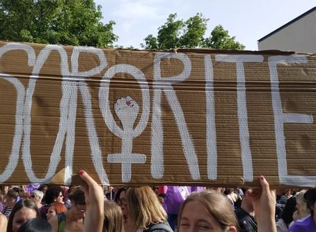 Le 8 mars 2020, toutes* en grève pour que notre corps, notre temps et notre travail soient respectés