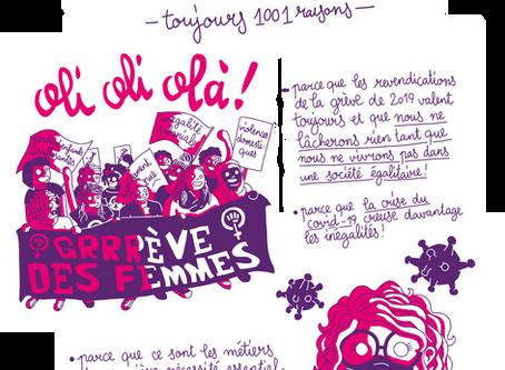 La BD de la grève domestique du 14 juin 2020