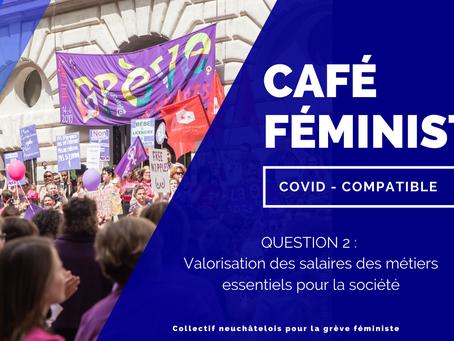 Café féministe - question 2- valorisation des salaires