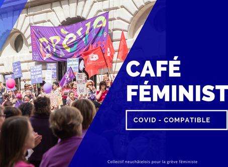 Café féministe covid-compatible