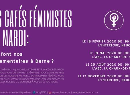 Les cafés féministes du mardi