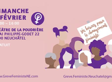 Six heures pour le changement féministe - 2 février 2020