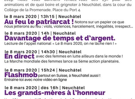 le 8 mars 2020 à Neuchâtel