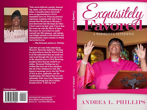 Exquisitely Favored with Autograph, Biblical Inscription & Gift Message