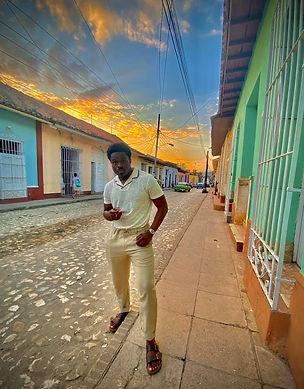 Shawn Antoine II in Cuba