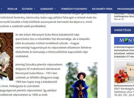 Montázs Magazin : XXVI. Vértesszőlősi Mesterkezek kiállítás