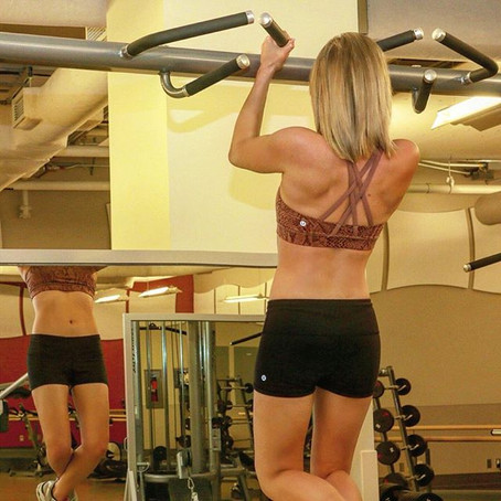 Pulling Your Weight: How to help you reach that unassisted pull up/ chin up