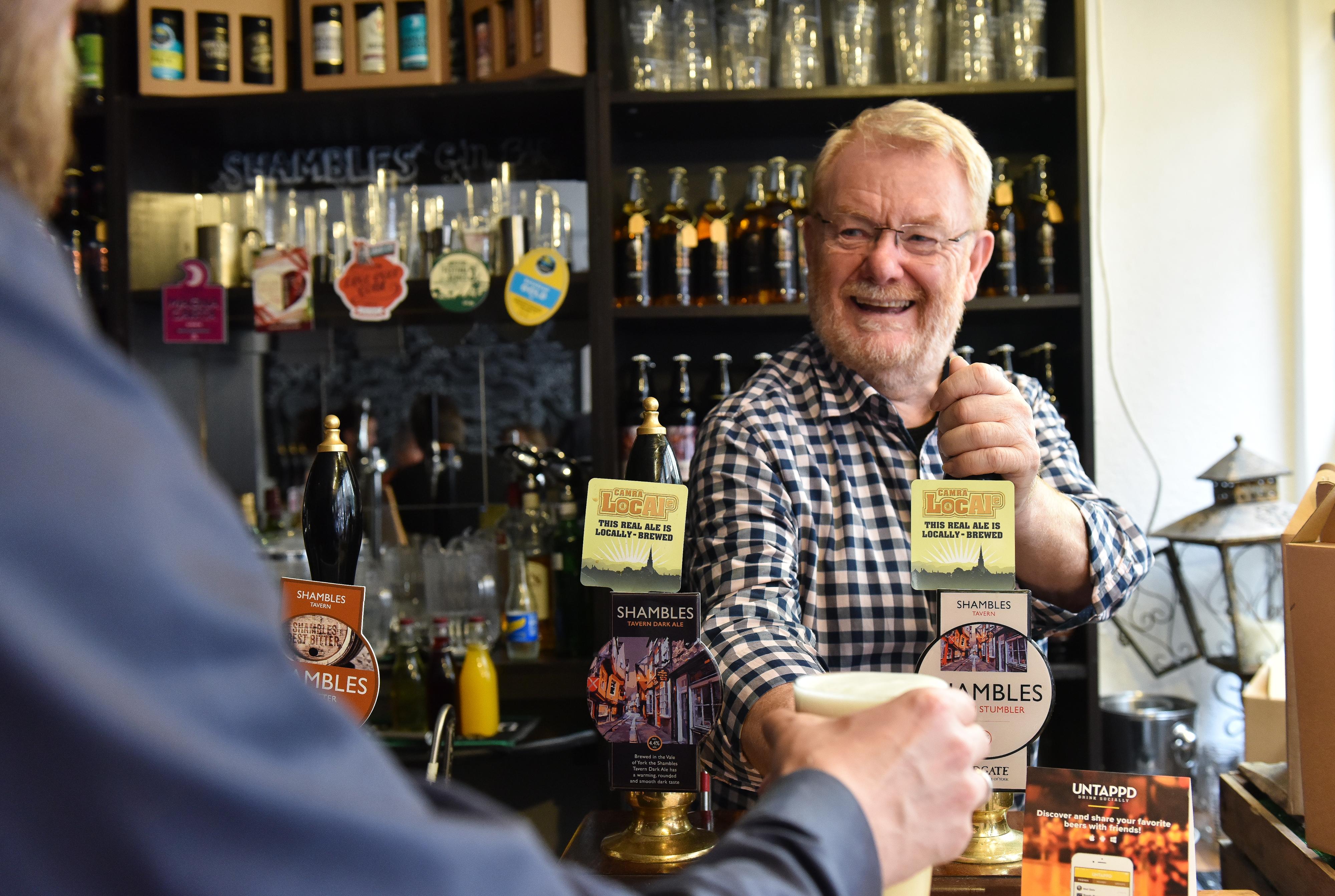 Pub owner Shambles Tavern