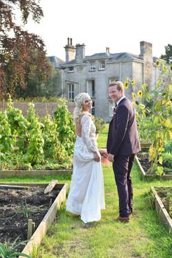 Wedding couple in Somerset house