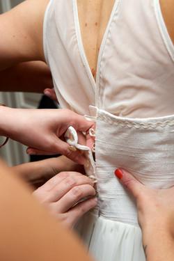 Wedding dress buttons