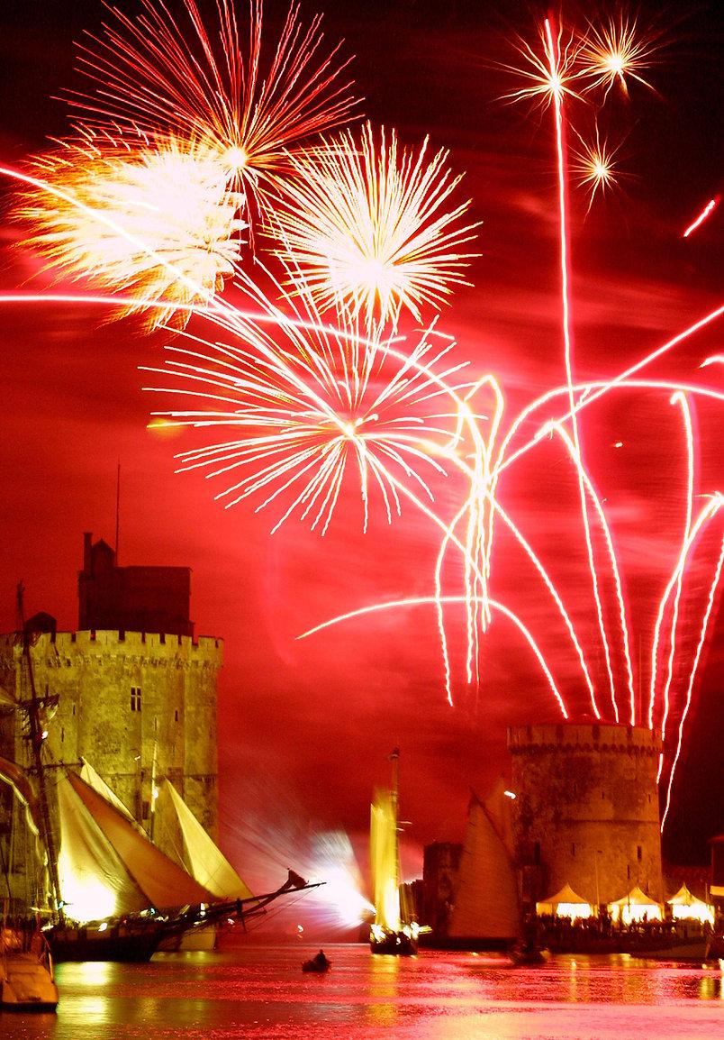 Fireworks in la Rochelle