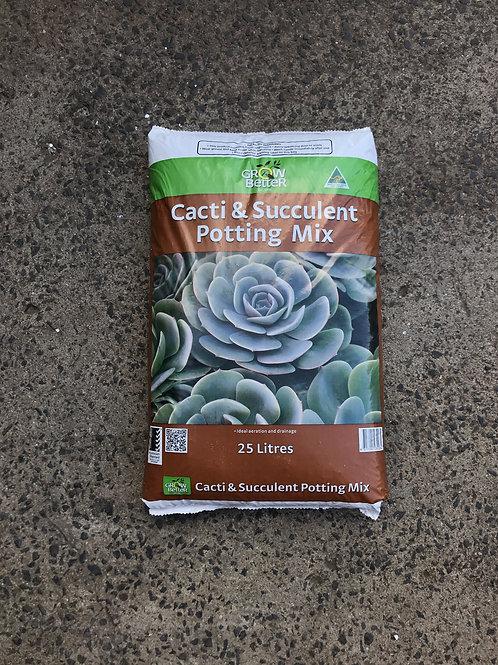 Succulent and Cacti Potting Mix 25L
