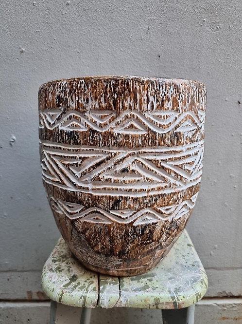 Charlotte carved vase