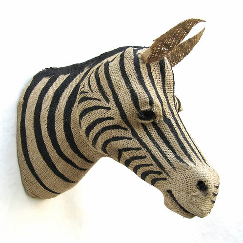 Zebra Head Jute