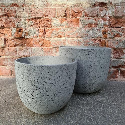 Granito Grey Concrete Egg Pot