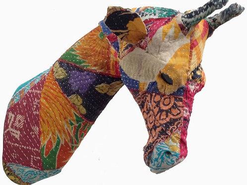 Giraffe Head Patchwork