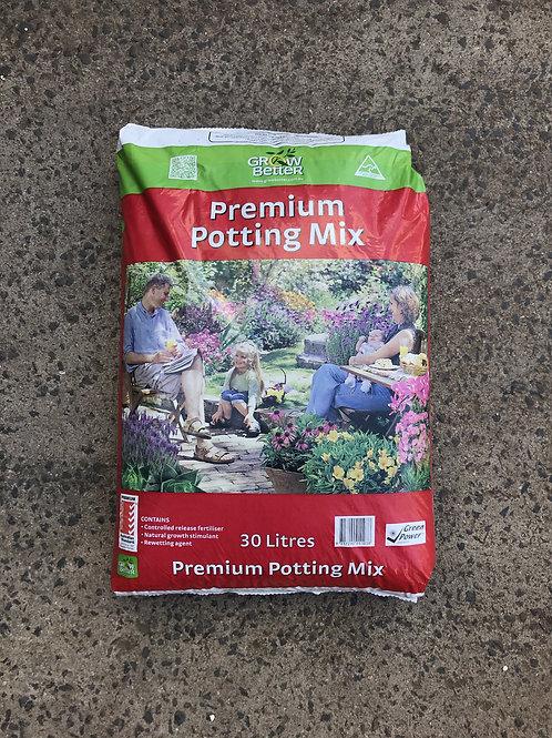 Premium Potting Mix 30L