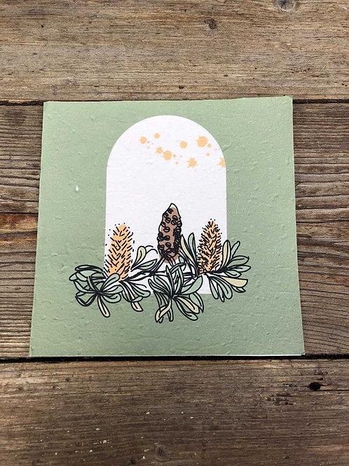 "Inartisan Plantable Gift Card "" Parsley """