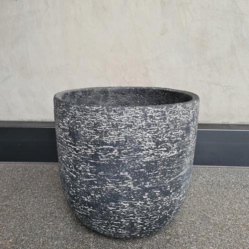 Stonewash Concrete Egg Pot