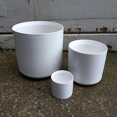 Ceramic Pot Thin White