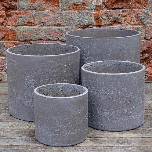 Light Grey Concrete Pot